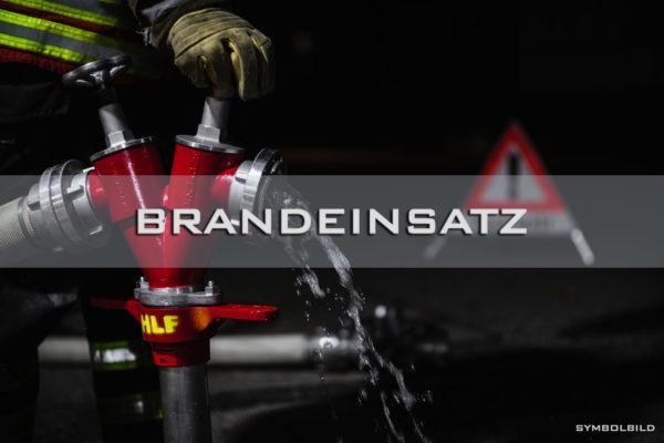 09.03.2020 – B3 Feuer/Rauch Wohncontainer