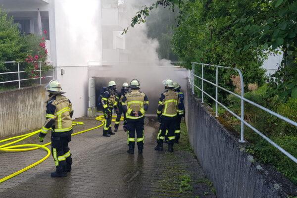 02.07.2021 – B3 Feuer/Rauch Tiefgarage